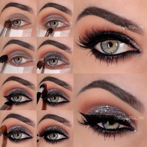 lesfillesadorent69 tutoriel maquillage eye. Black Bedroom Furniture Sets. Home Design Ideas